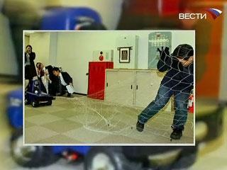 В Японии разработан робот-охранник. Фото телеканала Россия