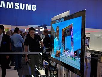 OLED-телевизор Samsung. Фото с sed-fernseher.eu
