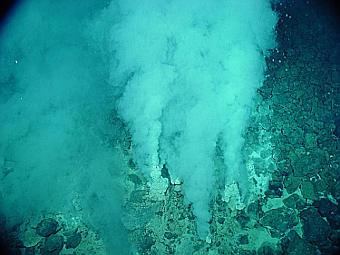 Гидротермальные источники. Фото пользователя Peko с сайта wikipedia.org
