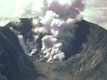 Извержение вулкана Сент-Хелен, 1980 г. Снимок NASA