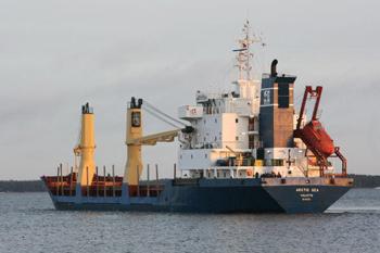 Arctic Sea, на борту которого находятся 15 россиян(Getty Images)