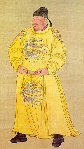 Император Тайцзун династии Тан (599 - 649 нашей эры)