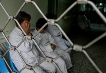 Психиатрия в Китае используется для подавления инакомыслия. Фото: AFP
