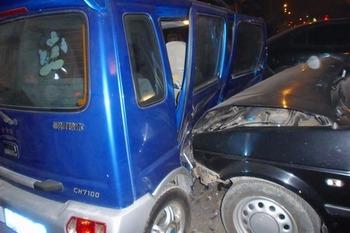 Автокатастрофа, которую сфотографировал Чжан Цзинсин. Фото с epochtimes.com