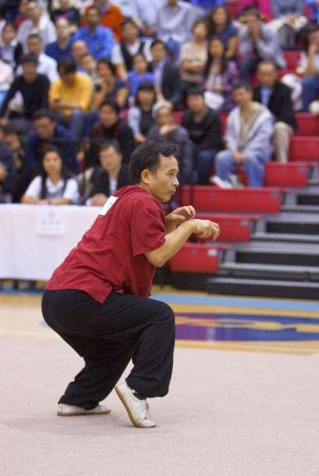 Участники соревнований демонстрируют свое мастерство. Фото: Эдвард Дай /Великая Эпоха