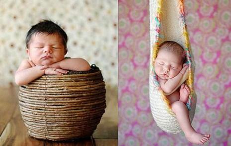 Милые  спальные позиции Baby. Фото с secretchina.com