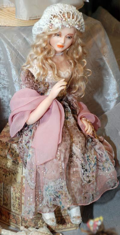 Авторская кукла. Евразийский кукольный союз. Фото: Юлия Цигун/Великая Эпоха