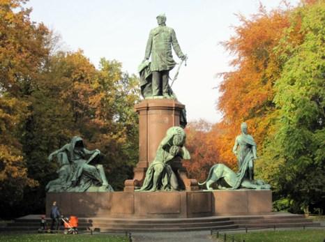 Парк «Тиргартен», памятник Бисмарку (нем. Tiergarten, Bismarck-Nationaldenkmal). Фото: Ирина Лаврентьева/Великая Эпоха