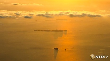 Сумерки. Фото: CHENGKUANGKAI/NTDTV