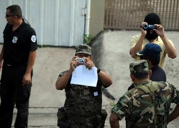 Военнослужащие. Фото: ORLANDO SIERRA/AFP/Getty Images