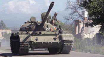 Конфликт начался с агрессии Грузии против Южной Осетии. Фото: KAZBEK BASAYEV/AFP/Getty Images
