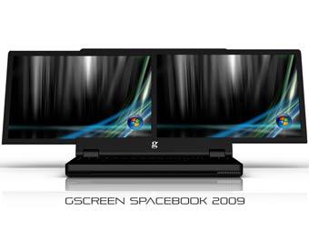 Ноутбук Spacebook. Изображение с gscreencorp.com