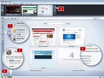 Внешний вид Opera 10.10