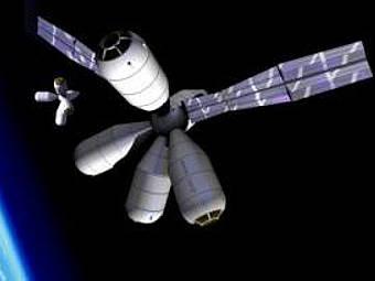 Модель космического отеля. Фото с Galactic Suite Ltd.