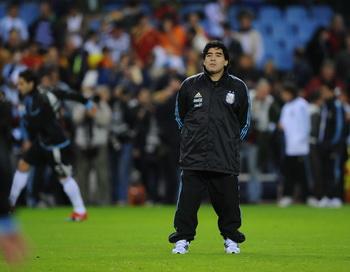 Марадона отстранен от футбола на два месяца. Фото: Денис Дойл / Getty Images