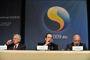Совещание министров финансов стран зоны евро началось в шведском городе Гетеборге. Фото: GEORGES GOBET/AFP/Getty Images