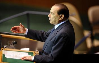 Сильвио Берлускони (Silvio Berlusconi).  Фото: Jeff Zelevansky/Getty Images