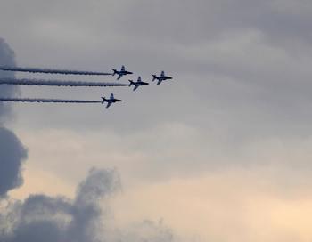 Из-за сокращений к 2015 году в рядах ВВС останется приблизительно 31 тысяча военнослужащих. Фото: KAZUHIRO NOGI/AFP/Getty Images