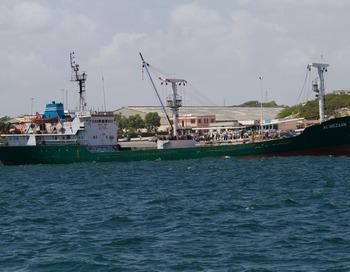 Сухогруз Hanseatic Spirit задержан в Портленде (Англия) в пятницу 27 ноября Агентством судоходства и береговой охраны Англии (МСА) за многочисленные нарушения требований безопасности.Фото: YASUYOSHI CHIBA/AFP/Getty Images