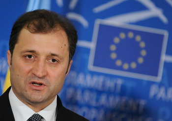 Премьер-министр Молдавии Влад Филат.  Фото:JOHN THYS/AFP/Getty Images