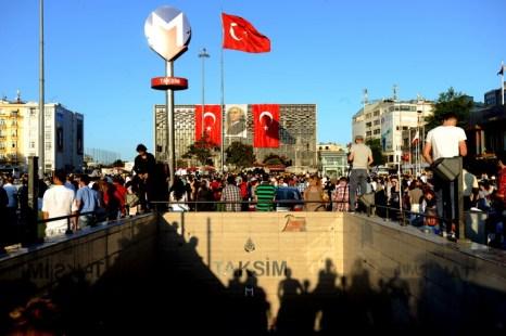Протесты в Турции. Фото: Burak Kara/Getty Images