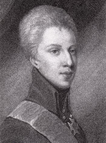 Портрет шведского короля Густава IV. Фото: livejournal.com
