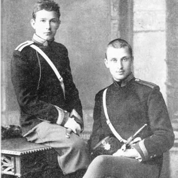 Карл Маннергейм (справа) в Николаевском училище. Фото: world-of-tank.com.na