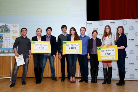 Российские студенты проектируют энергоэффективное будущее. Фото предоставлено пресс-службой компании «Сен-Гобен»