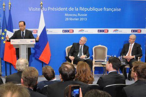 Франсуа Олланд. Фото: ALEXANDER NEMENOV/AFP/Getty Images