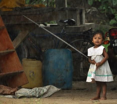 Сурама. Гайана. Индейская девочка.Фото: Елизавета Кирина/tecnolux.ya.ru