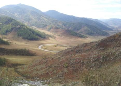 Горные хребты Центральной Азии. Фото: Вячеслав Козлов