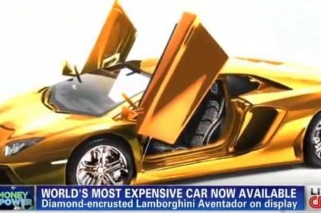 Lamborghini (скриншот CNN). Фото с сайта theepochtimes.com