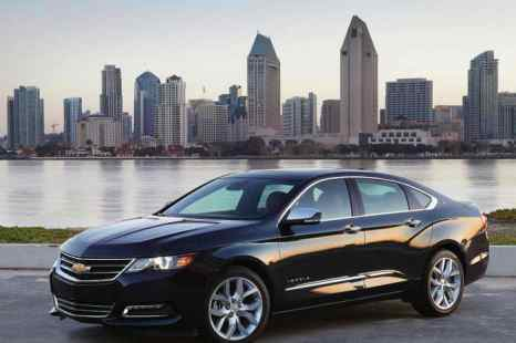 Chevrolet Impala 2014 года. Фото: NetCarShow.com