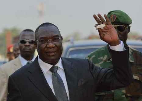 Временный президент Центральноафриканской Республики Мишель Джотодия. Фото: ERIC FEFERBERG/AFP/Getty Images