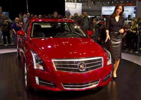 Cadillac ATS. Фото: Shutterstock*