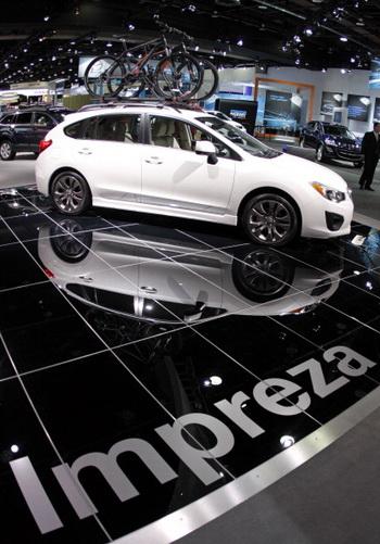 Subaru Impreza. Фото: Bill Pugliano/Getty Images