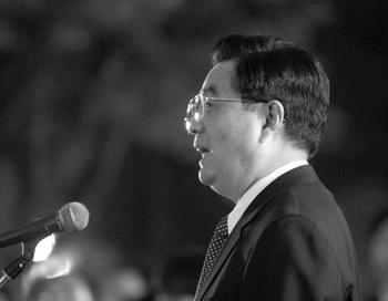 Генеральный секретарь компартии Китая Ху Цзиньтао. Фото: Prakash Singh/AFP/Getty Images