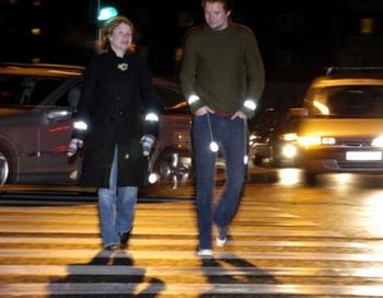 Светоотражатели для пешеходов.  Фото: bezformata.ru