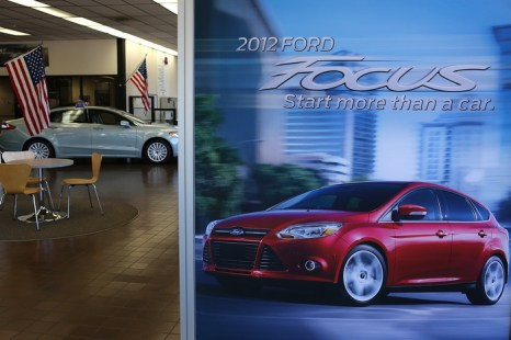 Ford Focus. Фото: Justin Sullivan/Getty Images