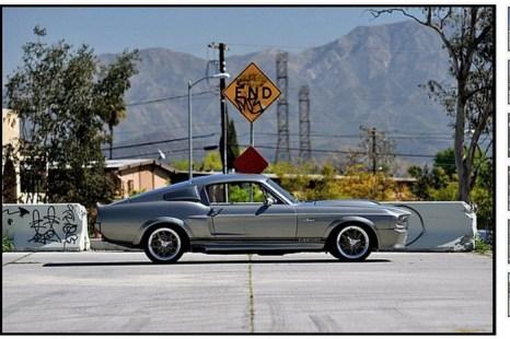 На скриншоте вебсайта аукциона Mecum изображён Mustang «Элеонор».