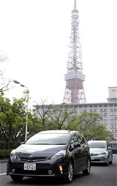 Toyota Motor выпустила новую партию автомобилей. Фоторепортаж с Toyota Motor. Фото:  Justin Sullivan/Getty Images