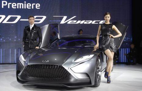 Мотор-шоу в Сеуле представляет автомобили широкой публике с 28 марта по 7 апреля 2013 г. Фото: Chung Sung-Jun/Getty Images