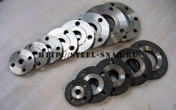 Фланцы плоские приварные. Фото: Steel-Snab.ru