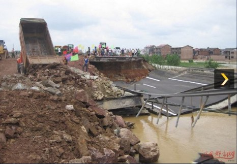 Наводнения в Китае. Июнь 2010 год. Фото с secretchina.com