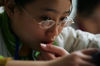Китай стоит на первом месте в мире по числу людей страдающих близорукостью. Фото: Getty Images