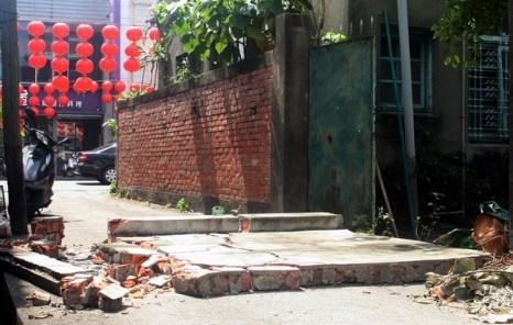 Последствия землетрясения на Тайване. 4 марта 2010 года. Фото: ЦАН