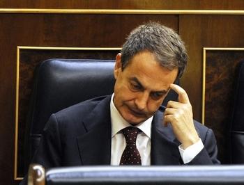 Председатель правительства Испании Хосе Луис Родригес Сапатеро. Фото: DOMINIQUE FAGET/AFP/Getty Images