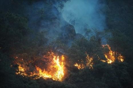 В окрестностях города Чунцин за один день произошло 28 пожаров. Фото с epochtimes.com