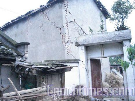 Полгода спустя после землетрясения. Провинция Сычуань. Архивное фото: epochtimes.com