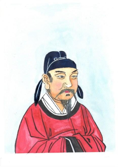Фан Сюаньлин – выдающийся государственный деятель династии Тан. Иллюстрация: Киока Чу/Великая Эпоха (The Epoch Times)